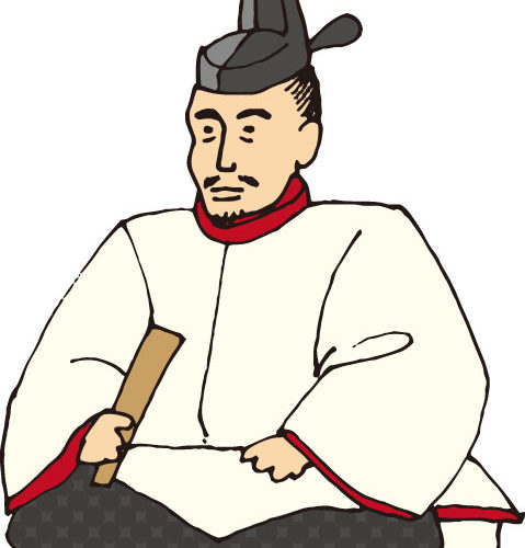 豊臣秀吉の肖像画イラスト